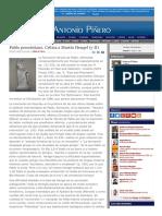 2007-03-26 Pablo Precristiano. Crítica a Martín Hengel 2-2 [31 de 3084]