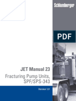 Schlumberger JET Manual 23 Fracturing Pump Units