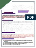l'Evaluation