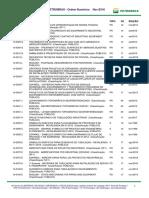 Catalogo de Normas Tecnicas Novembro 2018
