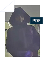 Sandy Spring Bank Robbery Suspect - 12/24/18