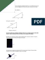 Practica de Trigonométria Emergencia