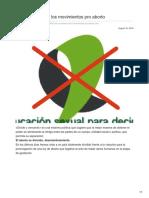 Taringa.net-Como Combatir a Los Movimientos Pro Aborto