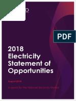 2018 Elec Statement