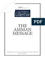 001 Amman Message
