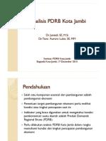 Seminar PDRB