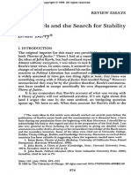 John Rawls and the Search for Stability
