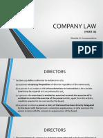 3 Company Law Part 3 Presentation
