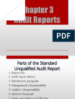 3rd Lecture Audit Report & Auditor Responsibilities (First )