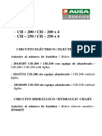 Ausa Forklift CH 200 and CH 250 Service manual