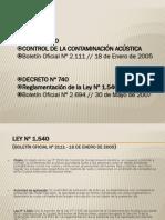 Ruidos Ley 1540 y Dto 740 Protocolos