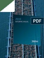 Telef - Informe Anual 2010