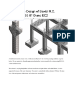 Comparative Design of Biaxial RC Columns