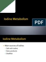Iodine Metabolism