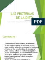 2018- Sesión 06 Proteinas-2018