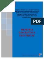 Memoria Descriptiva - Electricas-peru Birf