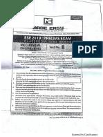 Mechanical engineering ESE test 8