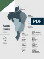 Mapa dos Estaleiros Brasileiros