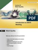 Mesh-Intro 14.5 L08 Mesh Quality