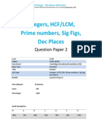 11.2 Intergers Hcf Lcm Prime Numbers Sig Figs Dec Places -Cie Igcse Maths 0580-Ext Theory-qp