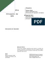 Manual en Español Rotalgn Ultra 5142433
