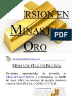 Minas de Oro en Bolivia - Point