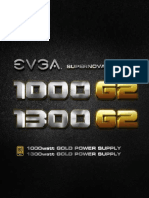 user manual eVga 1300 Watts