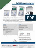 SWR Meters Brochure 1