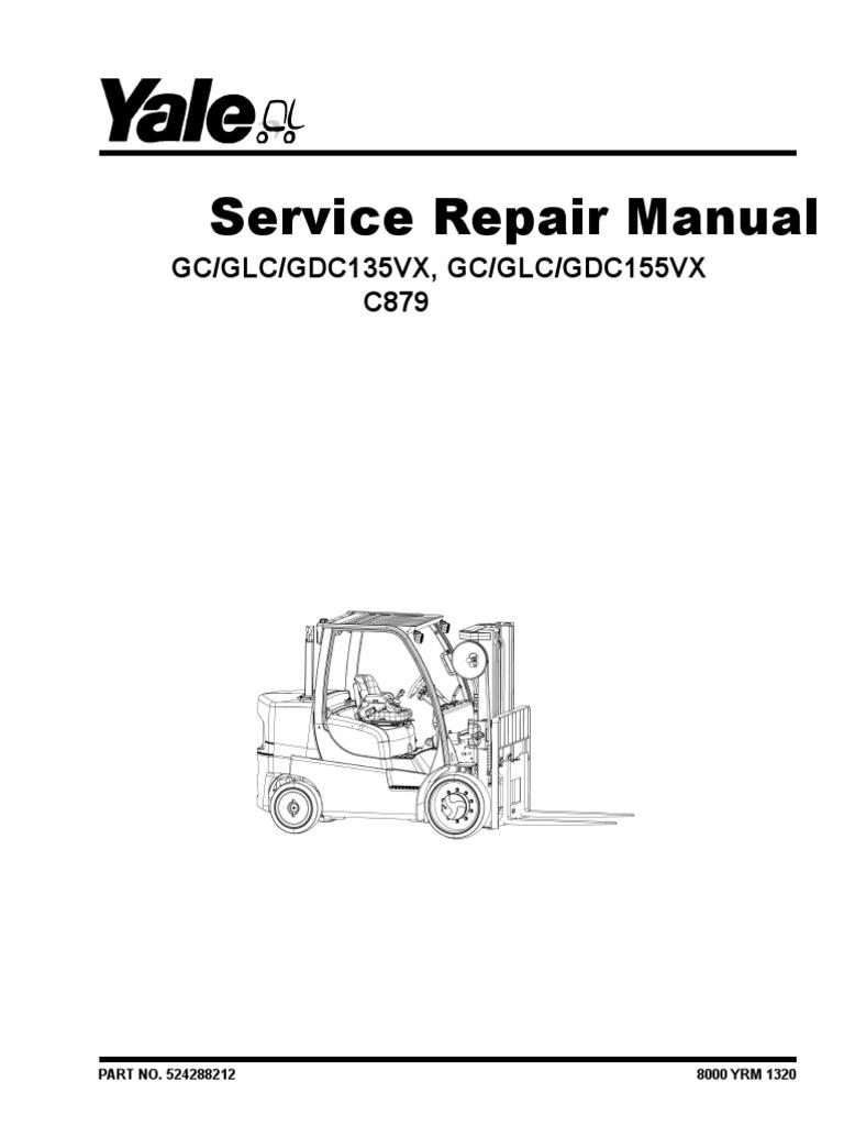 YALE (C879) GDC155VX LIFT TRUCK Service Repair Manual.pdf