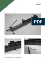 532475 Deenesfr LP 671103 Hydraulic Cylinder Conversion Kit