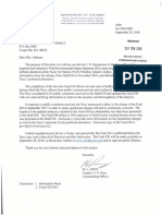2018-09-28 Dept of Navy Letter to Island County Commissioner Jill Johnson