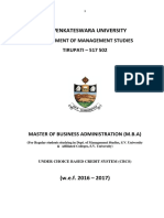 MBA New Syllabus