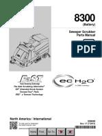 Tennant 8300 Parts Manual