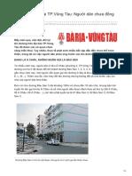 Baobariavungtau.com.Vn-Đặt Tên Đường Tại TPVũng Tàu Người Dân Chưa Đồng Thuận Là Có Lý Do