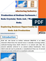 Soda Ash Manufacturing Industry