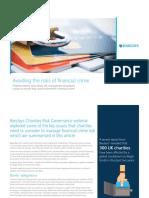 Avoiding Risks of Financial Crime