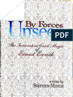 Stephen Minch - Ernest Earick - By Forces Unseen