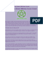 The Green Witches Coven Lesson 01 of 13.doc