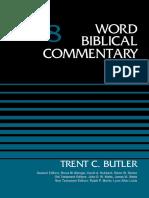 Word Biblical Commentary 8 Judges, Volume 8 - Trent C. Butler