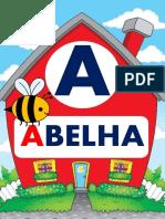 Alfabeto Das Casinhas Com Palavra
