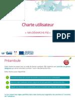 Charte Utilisateur Pour Usage de MDFSE