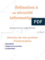 Sensibilisation a La Securite Informatique