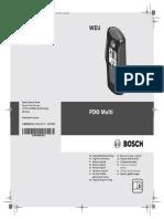 Bosch Detector PDO Multi