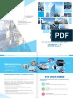 MORNSUN Product Application Brochure