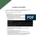 35 Cours Migration 2003-2008R2