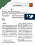 1.Examination of Major Factors Affecting Voltage Variation on Distribution Feeders