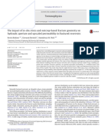 The impact of in-situ stress and outcropbased fracture geometry on hydraulic aperture and upscaled permeability in.pdf