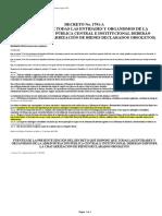 Chatarrización - Sector Público