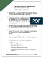 RECOMENDACIONES PARA REGISTRO DE OPERACIONES SIAF (TRANSFERENCIAS FINANCIERAS%2c ANULACIONES Y OTROS)(1).pdf