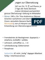 Translatologie II